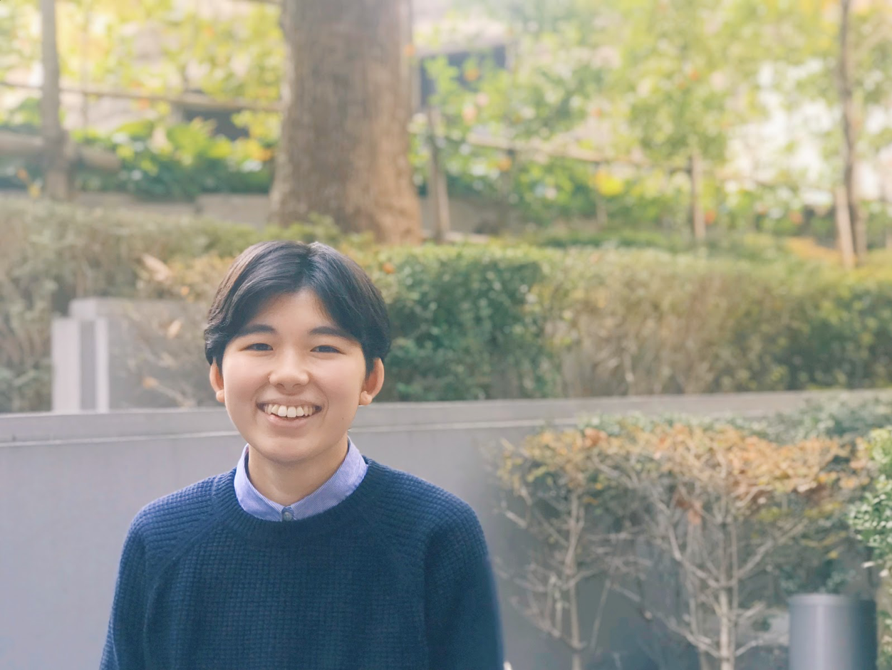 18新卒「とめこ」インタビュー|自分の「やりたい!」を考えられる場所